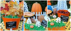 Great Pumpkin Charlie Brown Party - Pretty My Party