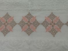 Blackwork Embroidery, Black Work, Diy And Crafts, Rugs, Lace, Decor, Fashion, Indian Embroidery, Bathroom Towels