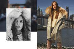 Photographer : Alessio Boni Model : Ine Neefs Creative Director : Giovanni Bianco  Styling : Tom Van Dorpe  Hair: Holli Smith  Make Up: Ayako  Location: Brooklyn Bridge, New York
