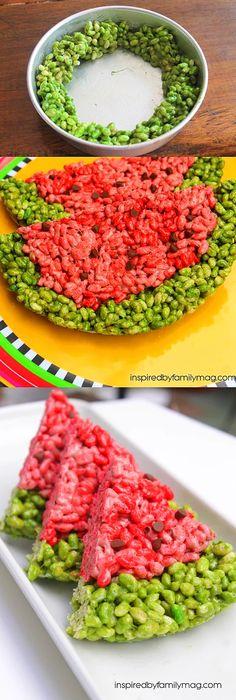 Rengarenk yaz atıştırmalıkları için tek gereken pirinç patlağı.
