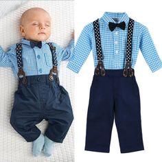 ff62d7f5e 2pcs Newborn Infant Baby Boy Girls Clothes T-shirt Tops+Pants Outfits Set 0