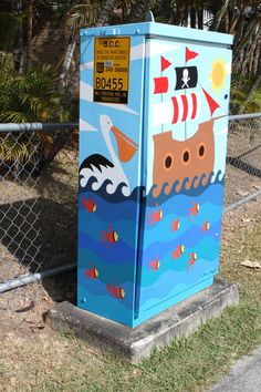 How To Paint A Traffic Signal Box