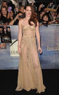 Kristen Stewart, Breaking Dawn Part 2 Premiere in Zuhair Murad