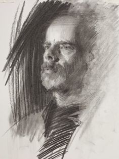 A number of portraits drawn by Louis Smith. His portrait group is every Tuesday between 7-9pm, in his studio, Manchester.