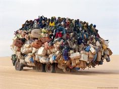Modern Saharan Caravan