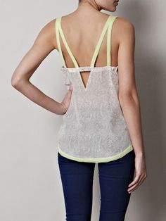 Love the shape of this top