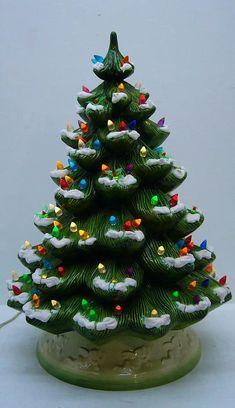454 Best Ceramic Christmas Trees Images In 2019 Ceramic