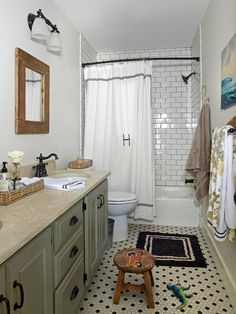Dp-cottage Bathrooms from Anisa Darnell on HGTV