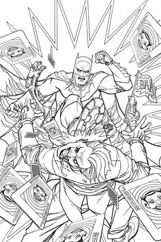 batman coloring page - Green Arrow Coloring Pages