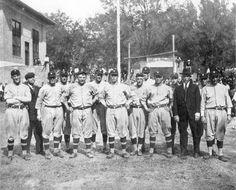 Washington American League Ball Club training camp at DeLand (1923).   Florida Memory