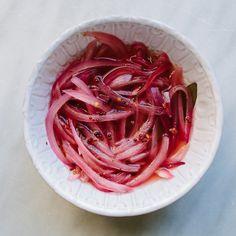 Quick Pickled Onions II Recipe - Bon Appétit Recipe