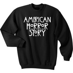 American Horror Story Sweater ❤ liked on Polyvore featuring tops, sweaters, american sweater and american tops