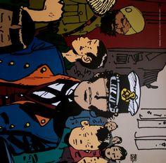 Art print - Hugo PRATT - Corto Lointain