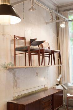 Meet The Trader: Geert Van Halewijck of Møbelfabrik Retro Furniture, Antique Furniture, Mid Century Furniture, Van, Meet, Blog, Blogging, Vans, Vans Outfit