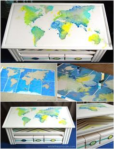 5 Spectacular Coffee Table Painting Ideas that You'd Like to Try