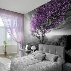 Inspirująca tapeta z motywem drzewa nad wodą.