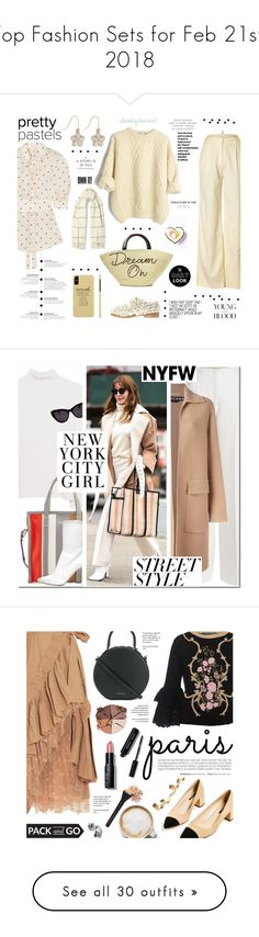 """""""Top Fashion Sets for Feb 21st, 2018"""" by polyvore ❤ liked on Polyvore featuring Brooks Brothers, Zimmermann, Eugenia Kim, Anouki, Holzweiler, M&Co, ivory, polyvoreeditorial, pastelsweaters and independantSet"""