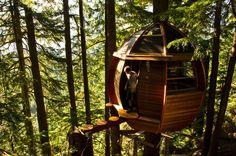 Whimsical Treehouse in Whistler.