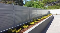 Image result for aluminium privacy fencing