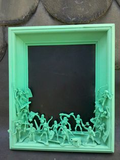 jade colored pirate chalkboard by CheeseCrafty on Etsy, $24.00