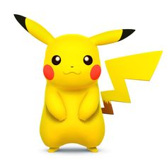 Pikachu as he appears in Super Smash Bros. for Nintendo 3DS / Wii U.