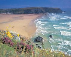 Mawgan Porth - My Idea of paradise! Cant wait til August! sea sand and surf here I come!