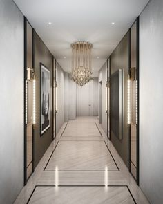 Luxury Apartments Archives - Page 9 of 11 - Luxury Decor - Luxury Interior Design Entrée, Lobby Design, Floor Design, Home Design, Design Trends, Design Hotel, Design Ideas, Wall Design, Design Projects