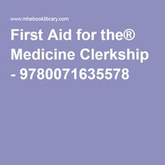 Andreoli and carpenters cecil essentials of medicine 9th edition first aid for the medicine clerkship 9780071635578 fandeluxe Gallery