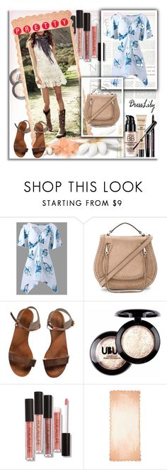 """Dresslily"" by ammm-807 ❤ liked on Polyvore featuring Rebecca Minkoff, Emporio Armani and Faliero Sarti"