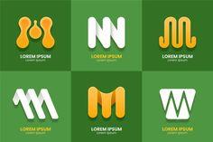 Vector Premium | Logotipo de la letra m M Letter, Letter Logo, Supermarket Logo, Logo Smart, Money Logo, Creative Banners, Furniture Logo, Abstract Styles, Logo Templates