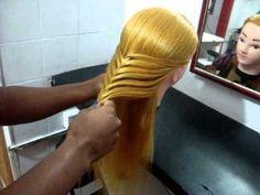 Tranças indianas Escola de cabeleireiro martha neves