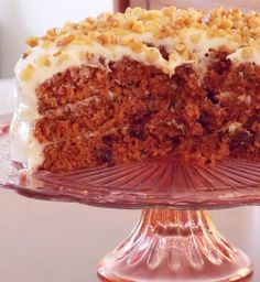 The Life  Loves of Grumpy's Honeybunch: Best Birthday Carrot Cake