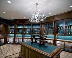 "24 Likes, 1 Comments - LuxeBestaan (@expensive_treasures) on Instagram: ""Love this gun room! #guns #gunroom"""