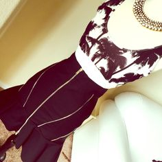 "ZARA skirt Measures 20"" long in front and 23"" on back, waist is 12.5"" across Zara Skirts"