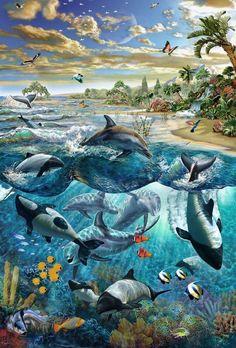 Dolphin Island - Adrian Chesterman