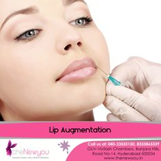 Get attractive and #lusciouslips that perfectly compliment your face with the advanced #LipAugmentation Surgery from TheNewyou.Contact for Great Deals!