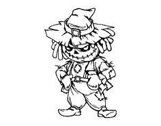 Dibujo de Hombre lobo para colorear  Dibujos de Halloween para