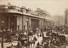 The Bank of England, City of London, 1890,prior to the rebuilding of the bank (© RIBA Library Photographs Collection)