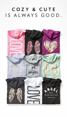 Anything from VS/Pink (especially hoodies or yoga pants)