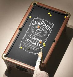 Jack Daniel's Pooltable