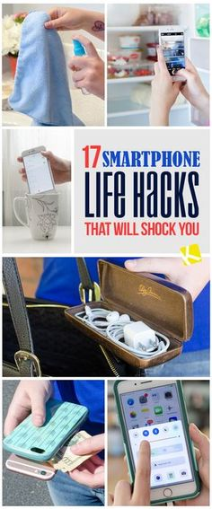 17 Smartphone Life Hacks That Will Shock You