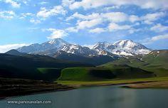 Sabalan Mountain in Iran