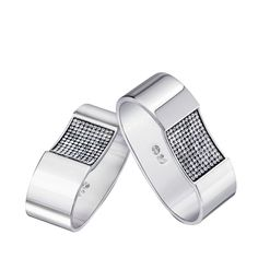 Swarovski Ambiray Napkin Rings, Set of 2