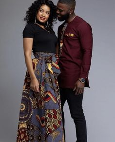 Couples showcase their romantic relationship with beautiful and colourful Ankara outfits., you'll see how lovely couples look in Matching Ankara Outfits. Couples African Outfits, African Clothing For Men, African Attire, African Wear, African Clothes, African Cake, African Fabric, African Women, African Shirt Dress