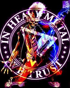 There's nothing better than skulls nd heavy metal music