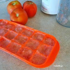 Πως θα φυλάξουμε λεμόνι και ντομάτα στην κατάψυξη Waffles, Tray, Breakfast, Food, Morning Coffee, Essen, Waffle, Trays, Meals