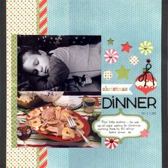 Christmas Dinner - Scrapjazz.com