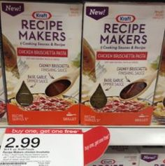 Target: Kraft Recipe Makers only $.25 with Printable Coupon!
