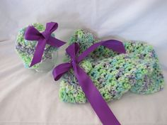 Crochet Cacoon With Hat INFANT Newborn3 Months by 2GrandmasCrochet, $35.00