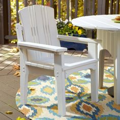 Uwharrie Carolina Preserves Outdoor Dining Chair with Arms